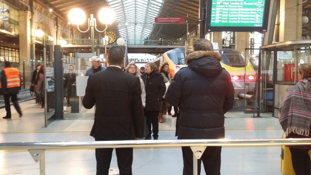 paris gare du nord to disneyland paris